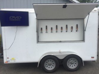 Keg trailer tap handles tv